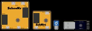 問題解決能力育成基板、SchooMyボードのラインナップイメージ