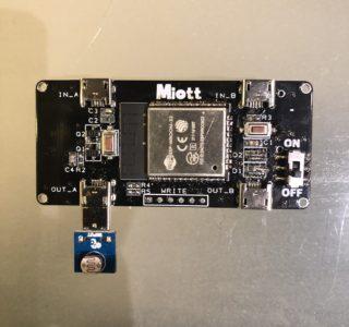 IoTデバイス デモ機 使用方法